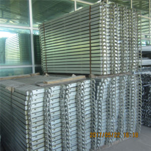 Zds Galvanized Steel Plank for Scaffolding pictures & photos