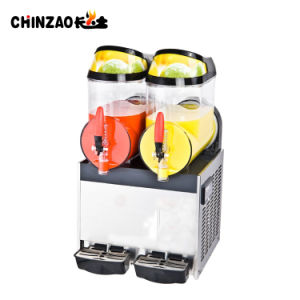 Frozen Drink Slush Machine Beverage Machine Margarita Slush Machine Xrj-10L*2 pictures & photos