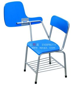 School Furniture Writing Tablet Chair with Hanging Basket (SF-18S) pictures & photos