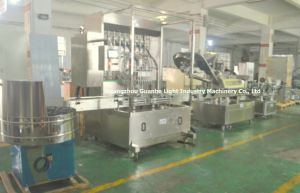 Auto High-Speed Glass Bottle Vacuum Capping Machine with Steam pictures & photos