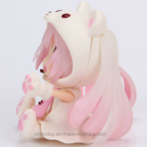 Pink Cute Bear Cartoon Figure as Birthday Gift pictures & photos