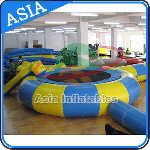 Inflatable Water Trampoline with Slide Combo pictures & photos