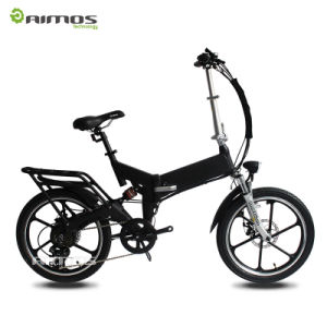 20 Inch Fat Tire 36V Folding Pedal Assist Electric Bike pictures & photos