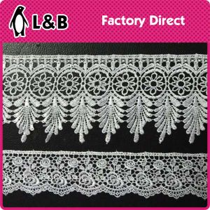 New Arrival Decorative Lace 100% Polyester Sewing Lace Trim pictures & photos
