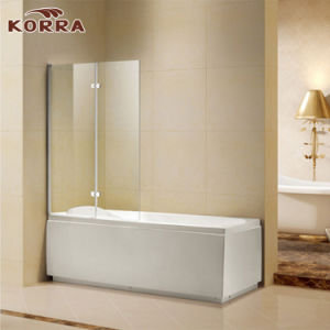 High Quality Aluminium Profile Bathtub Shower Screen (K-799) pictures & photos
