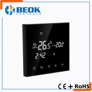 Beok New Design Digital Black Floor Heating System Thermostat (TGT70-EP) pictures & photos