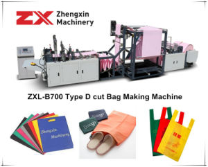 Non Woven Bag Making Machine for D Cut Bags (ZXL-B700) pictures & photos