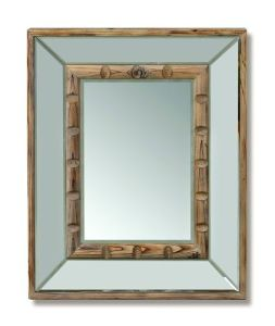 Bathroom Natural Wooden Modern Mirror Frame for Makeup pictures & photos