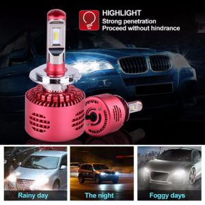 20W High Standard Brightest LED Headlight Kit Canbus 3000lm H7 Auto LED Headlight pictures & photos