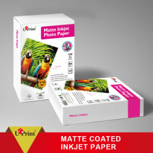 Ideal for Cover Printing Waterproof Suitable for Dye Ink Double Sided Matte Inkjet Paper pictures & photos