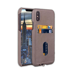 Hot Sale 2 Card Slot in 1 Mobile Phone Case for iPhone X pictures & photos