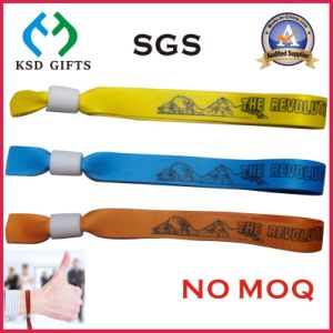 Custom Event Wristband with Adjustable Clasp (KSD-978) pictures & photos