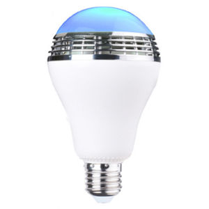 APP Controlled Bluetooth Speaker E27 LED Bulb for Bedroom pictures & photos