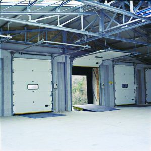 Industrial Sectional High Speed Ce-Approved Automatic Overhead Door (Hz-SD017) pictures & photos