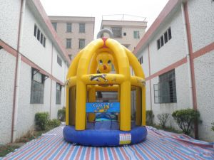 Popular Yellow Duck Inflatable Bouncer Jumping Castle Moonwalk (T1-631) pictures & photos