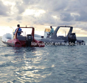 Liya 22feet Best Quality Rib Inflatable Boat with Engine for Sale pictures & photos