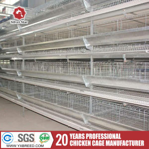 High Quality H Type 4 Ties Layer Battery Cage pictures & photos