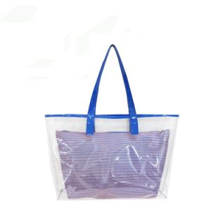 Portable Clear EVA PVC Cosmetic Bag Makeup Travel Organizer Waterproof Zipper Toiletry pictures & photos