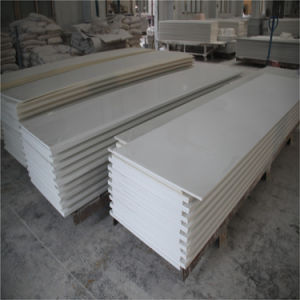 Decorative Material Pure Acrylic Solid Surface Slab pictures & photos