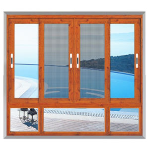 Factory Price Aluminium Glass Sliding Window Made in China pictures & photos
