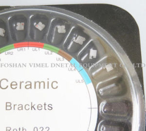 Dental Orthodontic Ceramic White Brackets Slot Roth 0.022 Hooks pictures & photos