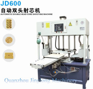 Shooting Machine Automatic Double Head Core Shooting Machine Jd400 pictures & photos