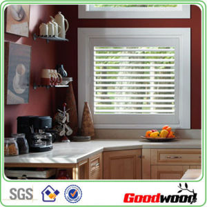 Waterproof Vinyl Plantation Shutter for Kitchen