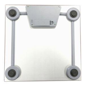 0.3mm Stainless Steel Slim Electronic Bathroom Weighing Scale pictures & photos