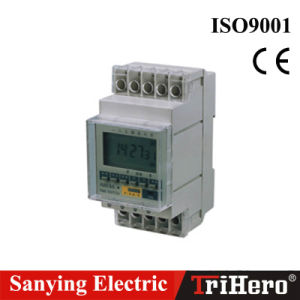 Ahc8a Digital Weekly Programmable DIN Rail Time Switch pictures & photos