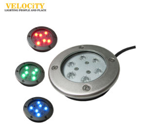 24V 6PCS CREE IP68 Stainless Steel LED Wall Mounted Pool Light Multi Color pictures & photos