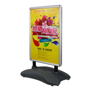 Pavement Sign for A1 Poster Water Base Poster Holder pictures & photos
