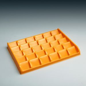 Foodgrade PS Chocolate Plastic Trays Packaging Plastic Packaging Inner Tray