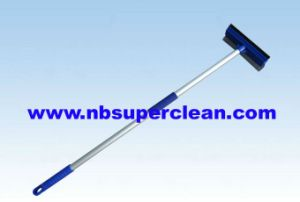 Telescopic Poles Rubber Cleaning Window Squeegee (CN1715) pictures & photos