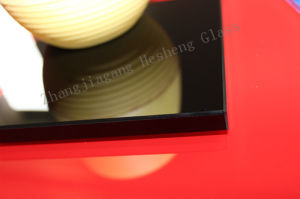 10mm Black Tempered Glass as Coffee Table Top pictures & photos