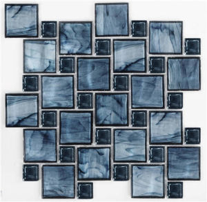 Blue Crystal Mosaic for Washroom Decoration pictures & photos