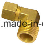American Brass High Quality Comp Male Elbow Connector Fitting or with Nut pictures & photos