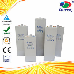 Opzv Tubular Gel Battery 2V1000ah for Solar Power 25years Life pictures & photos