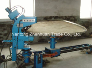 Oval Tank Head Flanging Machine with No Mold pictures & photos
