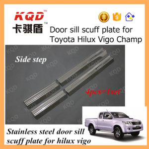 Car Door Sill Plate Parts Door Sill Scuff Plate Vigo Side Step for Hilux Vigo in Thailand for Toyota Hilux Vigo