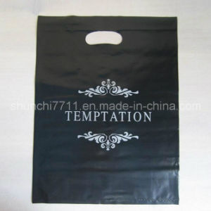 Plastic Handle Punching Shopping Bag pictures & photos
