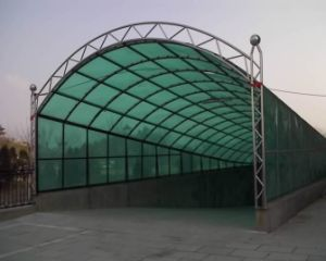 Polycarbonate Sheet for Car Canopy pictures & photos