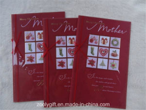 Hand-Made Gold Foil Greeting Gift Card for Mother′s Day pictures & photos
