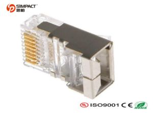 High Quality CAT6A RJ45 Connector pictures & photos