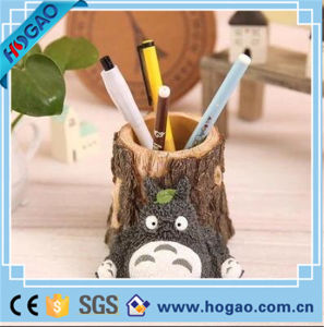 Resin Pen Holder Gray Totoro Table Decoeation pictures & photos