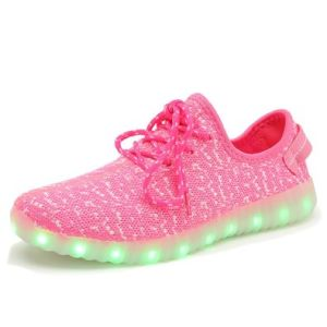2016 Hot Sale USB Charging Light Flashing Sneakers LED Shoes pictures & photos