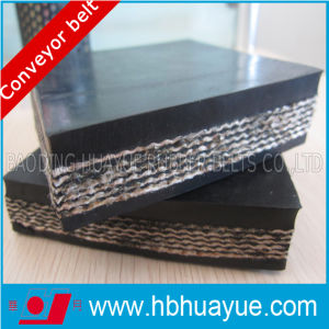 Quality Assured China Huayue Cc Rubber Conveyor Belt with Pretty Competitive Price Strength 160-800n/mm pictures & photos