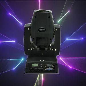 450MW RGB 15kpss DMX Ilda Animation Mini Moving-Head Laser Light pictures & photos