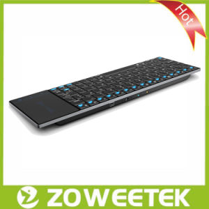 Zoweetek-Rechargeable Ergonomic Wireless Keyboard for Smartphone and Smart TV pictures & photos