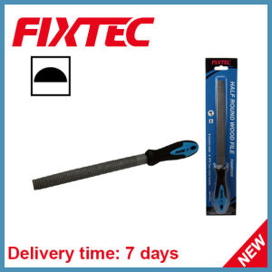 Fixtec Hand Tool Half Round Wood File for Woodworking pictures & photos