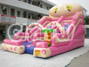 Pink Commercial Fun Inflatable Slide for Kids Chb107 pictures & photos